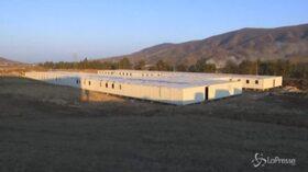 Nagorno-Karabakh: Mosca mostra la base delle forze di pace russe