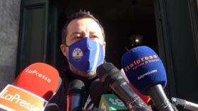 """Salvini: """"Farei un Governo anche con Gesù Bambino ma non con Conte"""""""