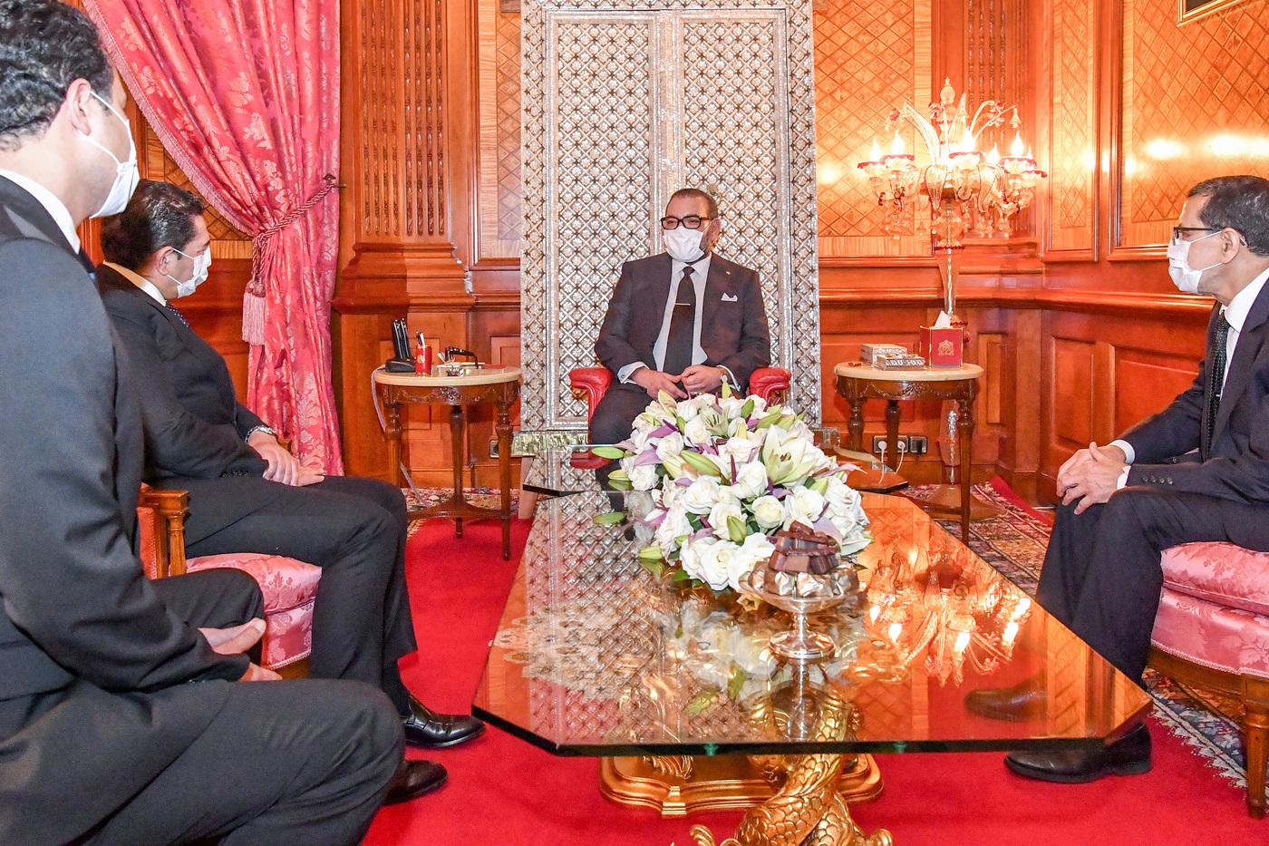 Coronavirus Marocco: re Mohammed VI da Palazzo Reale con mascherina