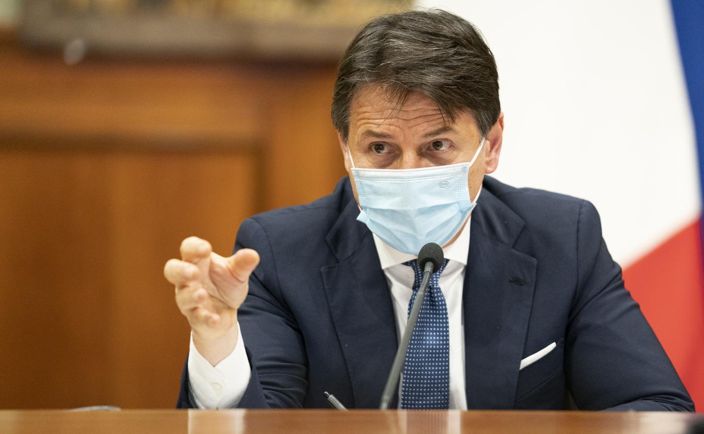 Recovery Fund, il Presidente Giuseppe Conte incontra a Palazzo Chigi il Partito Democratico