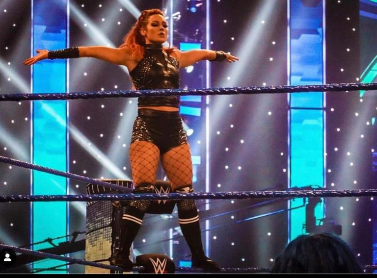 La wrestler Becky Lynch