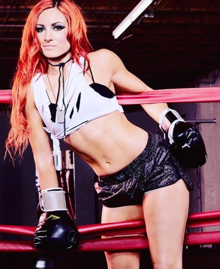 Becky Lynch sul ring