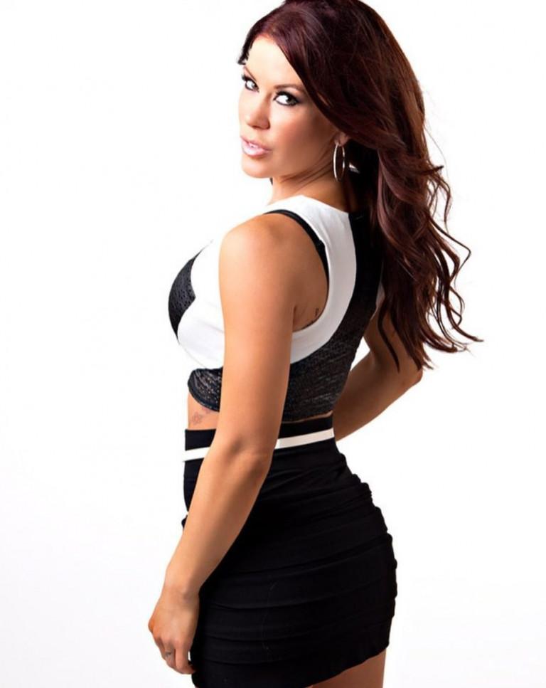 La lottatrice Madison Rayne