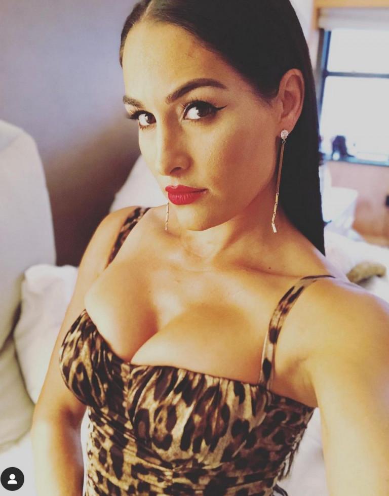 La lottatrice Nikki Bella