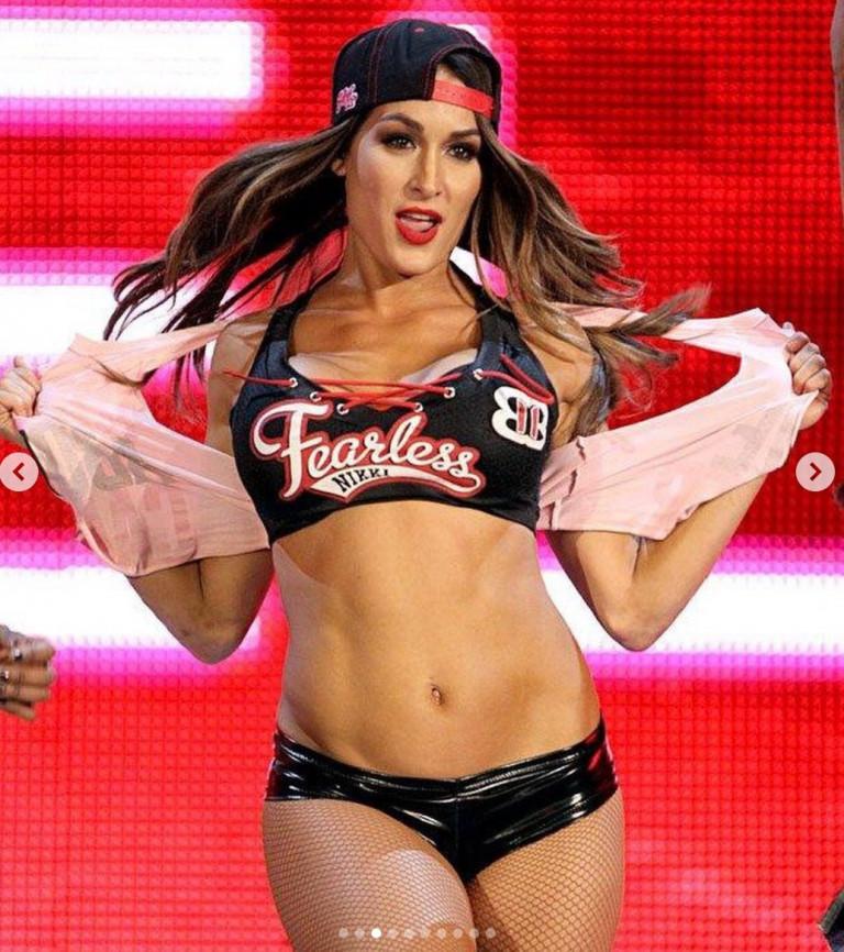 La wrestler Nikki Bella