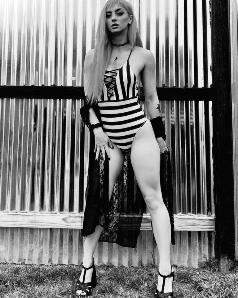 Priscilla Kelly, foto della lottatrice e modella