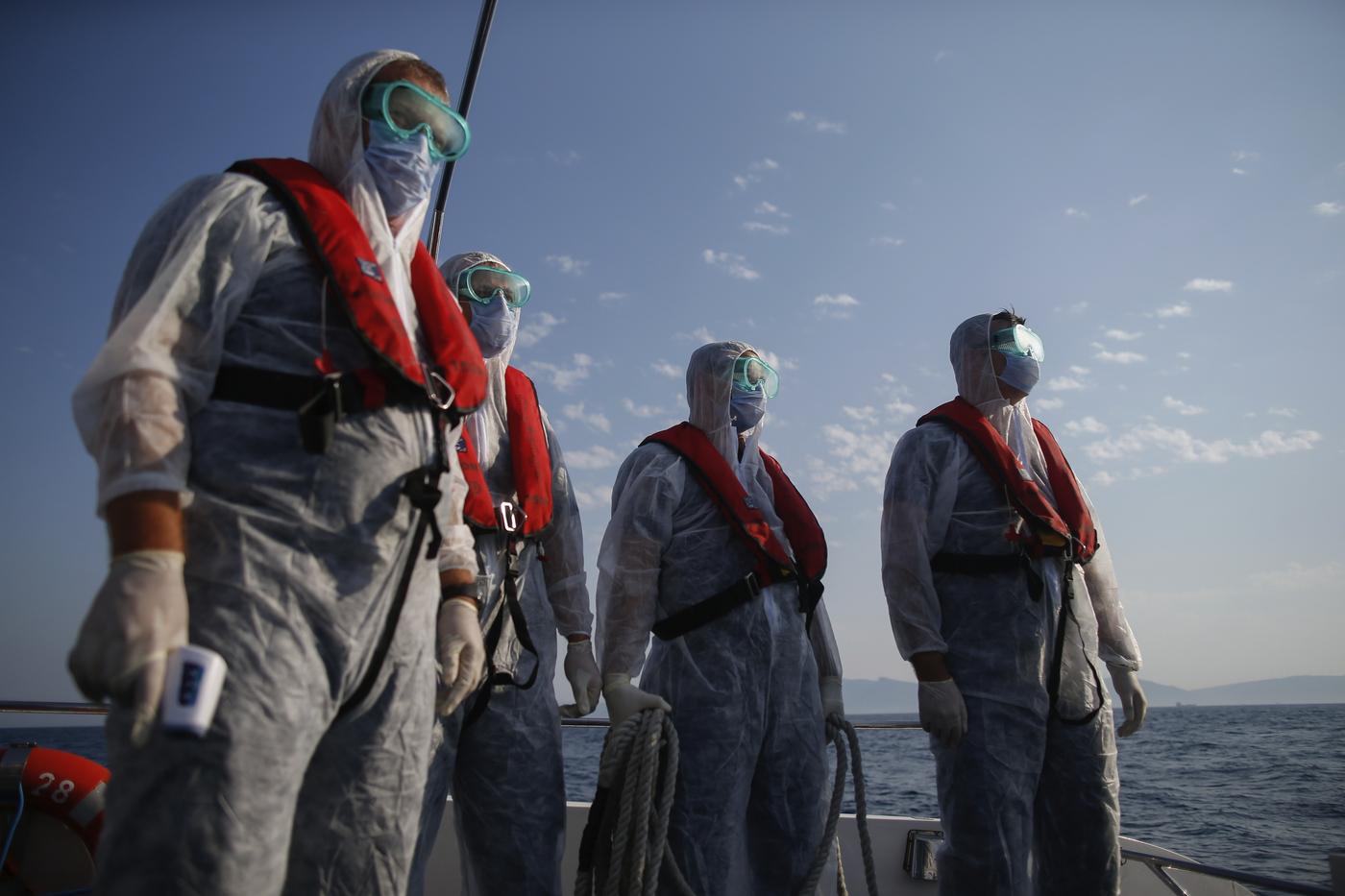 Salvataggio migranti Mar Egeo - Foto di repertorio