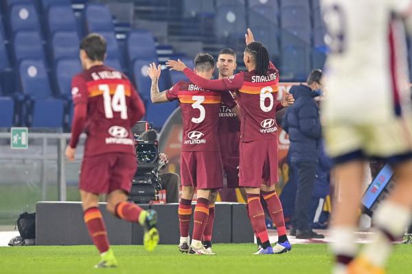 Roma vs Cagliari - Serie A TIM 2020/2021