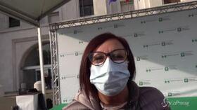 """V-day: Adele Gelfo, la prima vaccinata a Milano: """"Lo faccio per rispetto a chi non c'è più"""""""