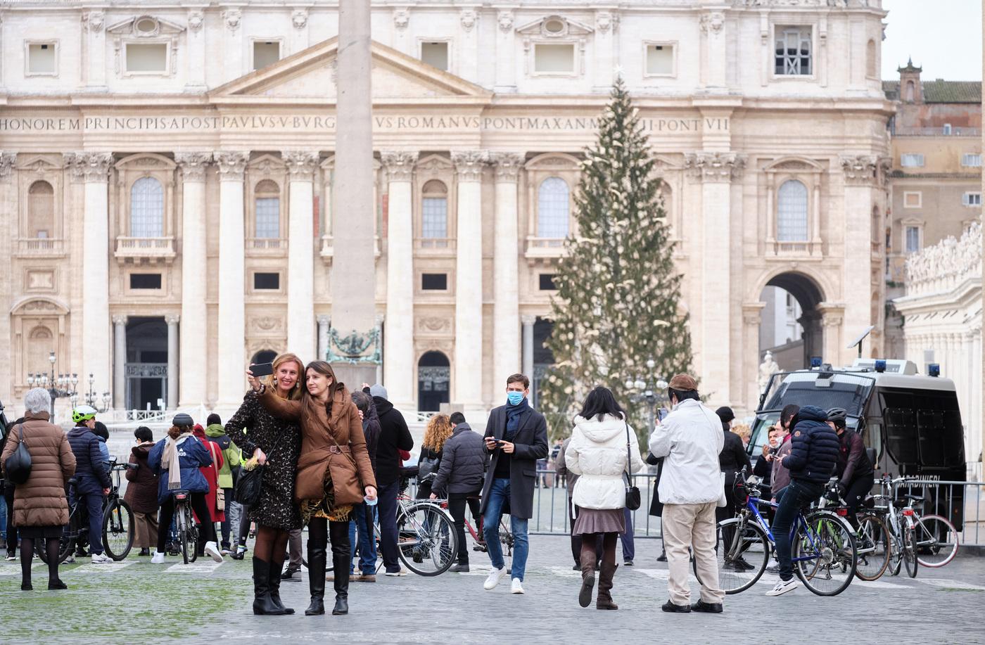 Piazza San Pietro - Messa di Natale e Benedizione Urbi et Orbi