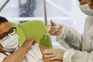 Roma, la campagna di vaccinazione anti Covid al Santa Maria della Pietà