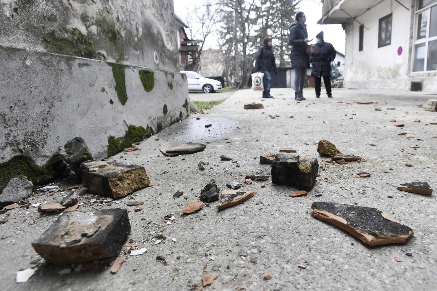 Croazia, forte scossa di terremoto all'alba di questa mattina: sisma di magnitudo 5.2