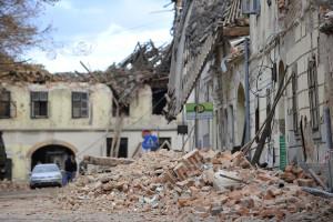 Croazia, forte scossa di terremoto di magnitudo 6.4