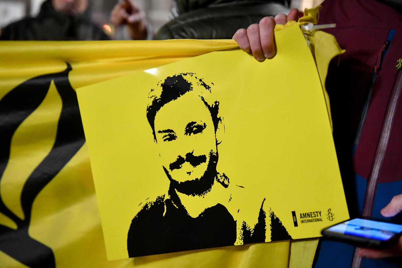 3 anni dalla morte di Giulio Regeni, la fiaccolata a Milano