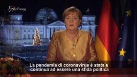 """Covid, Merkel: """"Pandemia è una crisi storica"""""""