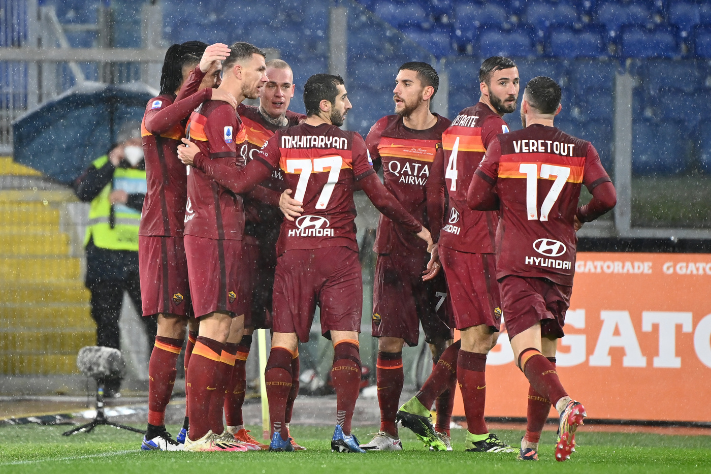 Roma vs Sampdoria - Serie A TIM 2020/2021