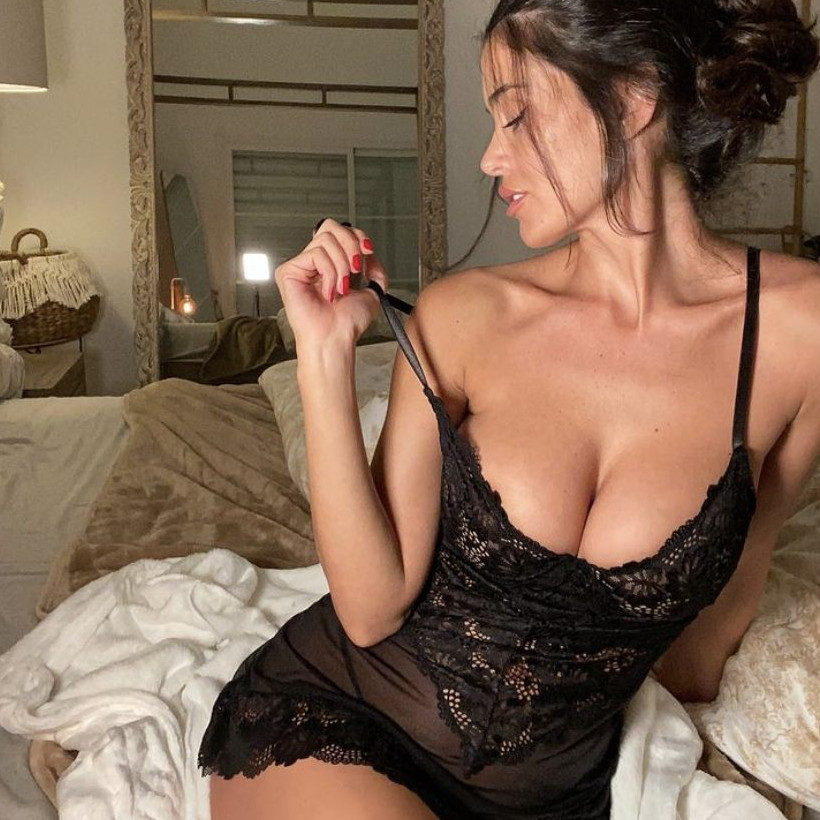eva padlock sexy e scandalosa su instagram