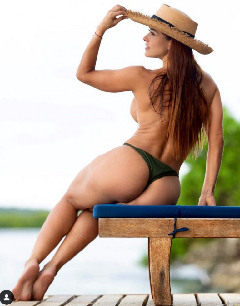Tatiana Girardi, la regina colombiana del sexy fitness