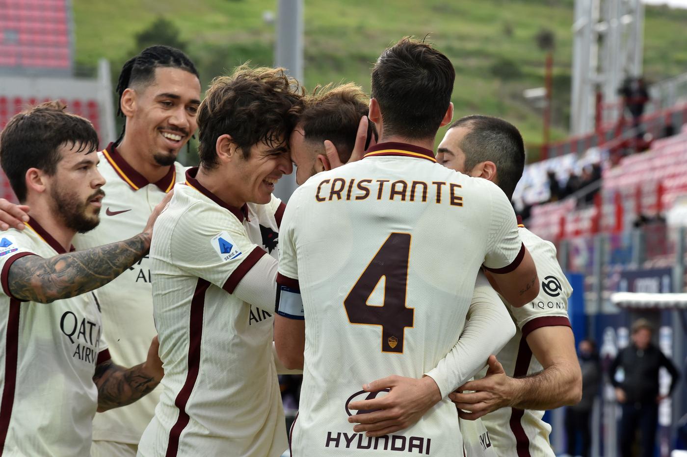 Crotone vs Roma - Serie A TIM 2020/2021