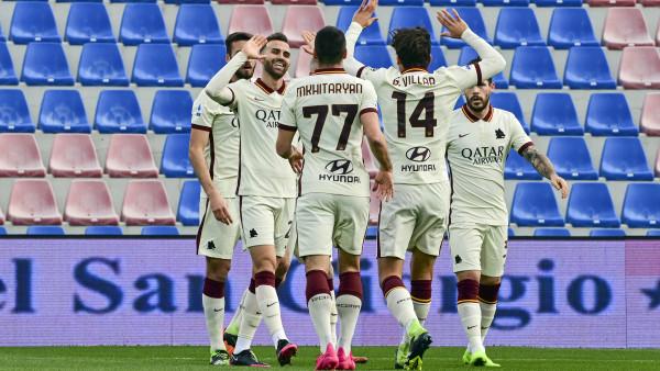 Serie A, la Roma cala il tris a Crotone