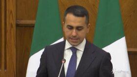 """Medioriente, Di Maio: """"Ripresa processo pace rimane obiettivo primario"""""""