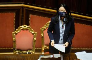 Senato - Lucia Azzolina Ministro istruzione