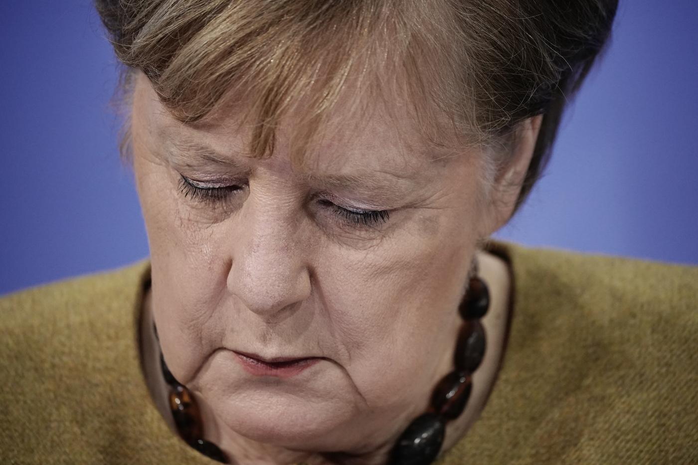 Angela Merkel, Coronavirus, la Germania in lockdown fino al 31 gennaio