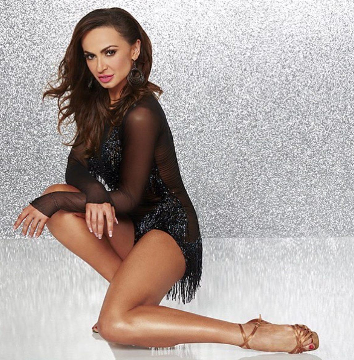 La ballerina Karina Smirnoff