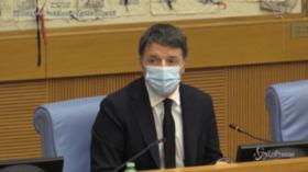 """Crisi di governo, Renzi: """"Esecutivo nato contro Salvini che chiedeva pieni poteri""""   VIDEO"""