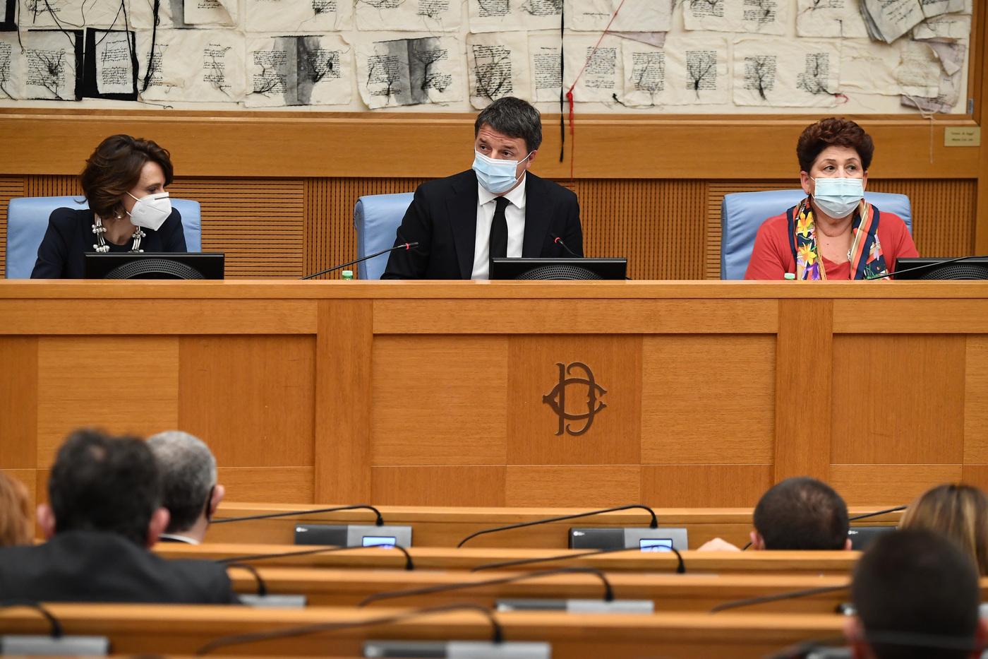 Crisi Governo Conte, Renzi in conferenza stampa