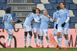 Sassuolo vs Spal - Coppa Italia - Ottavi di Finale 2020/2021