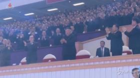 Corea del Nord, Kim Jong Un alla festa di chiusura del Congresso del partito