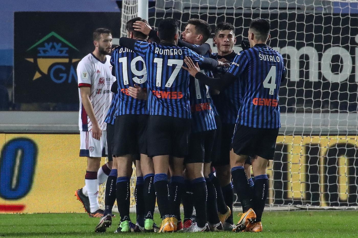 Atalanta vs Cagliari - Coppa Italia - Ottavi di Finale 2020/2021