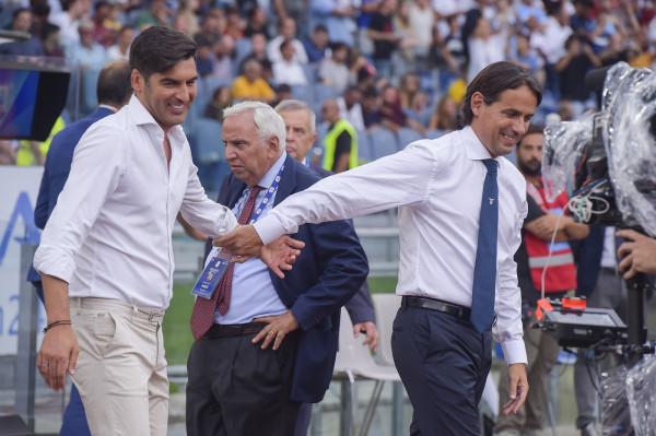 """Lazio-Roma primo derby senza tifosi. Inzaghi e Fonseca: """"Vogliamo vincere"""""""