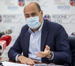 Nicola Zingaretti presenta i progetti per il contrasto all'usura durante la pandemia
