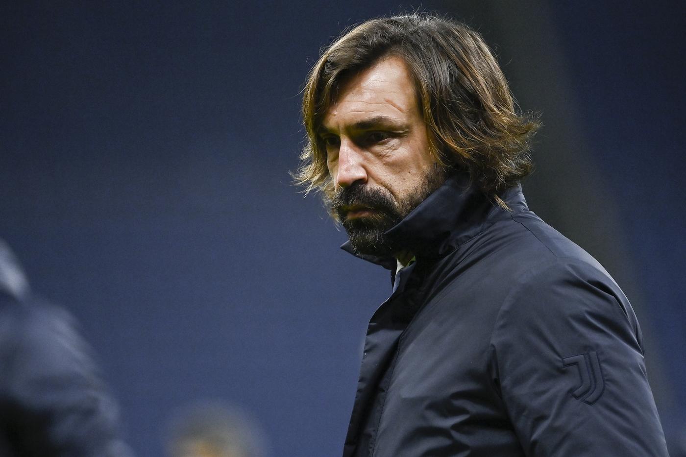 Andrea Pirlo. Milan vs Juventus - Serie A TIM 2020/2021