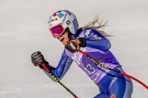 Marta Bassino. Coppa del Mondo di sci alpino, super-G femminile a St. Anton in Austria