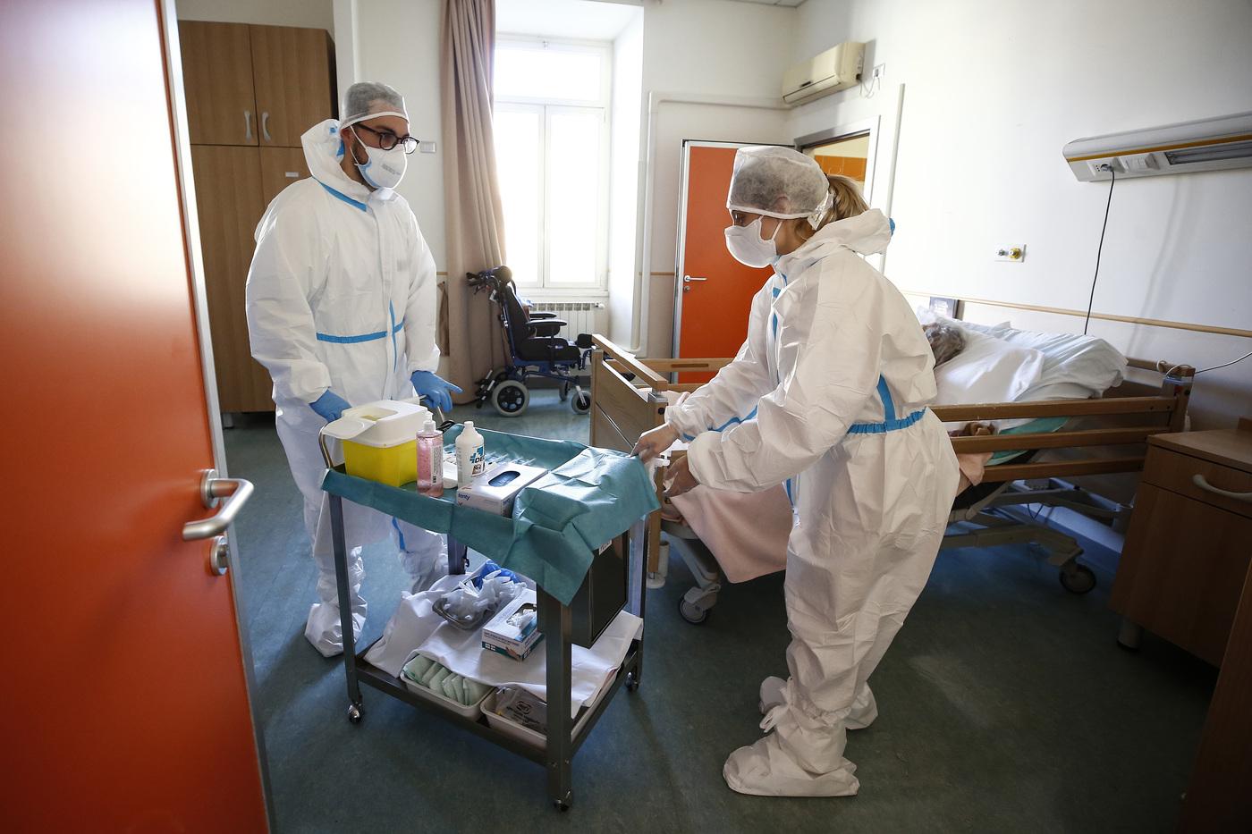Roma, le vaccinazioni anti Covid-19 nelle Rsa