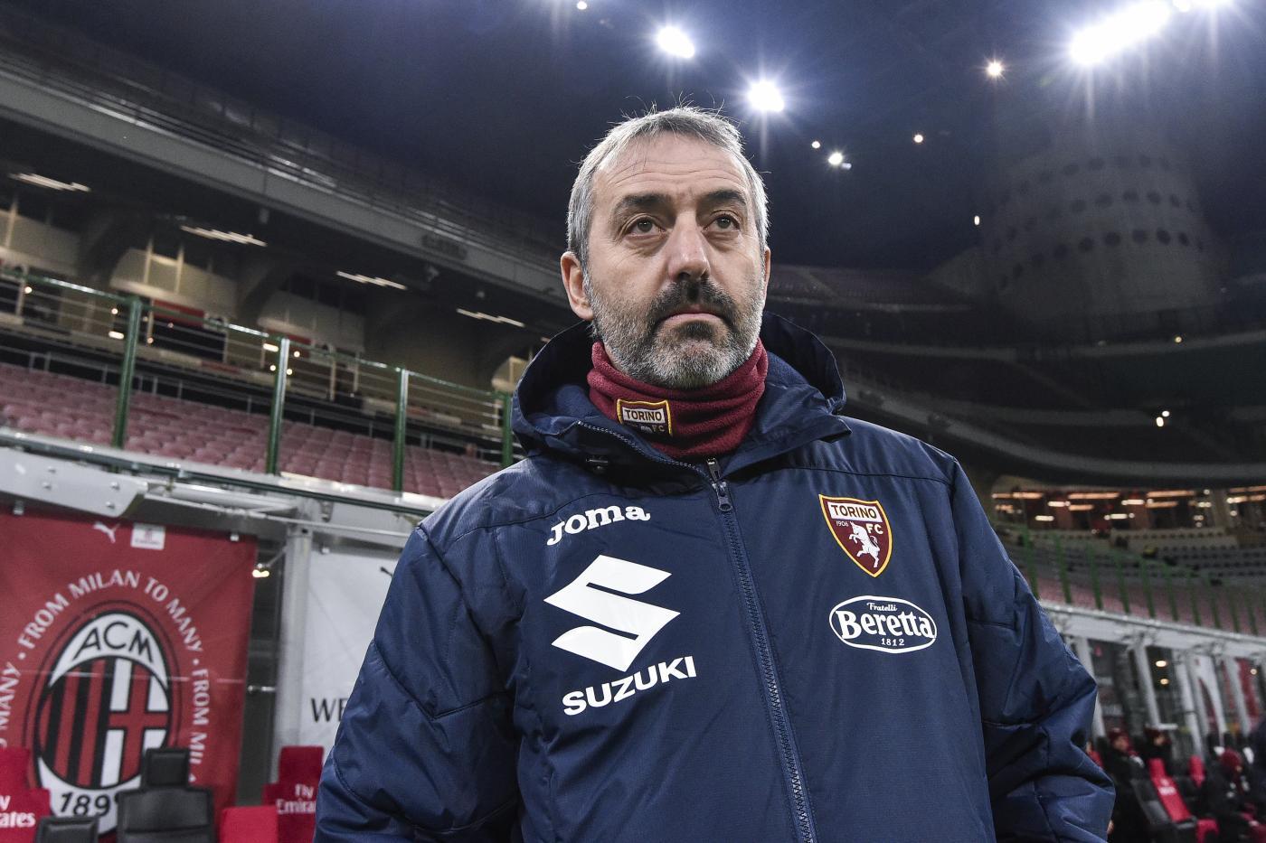 Marco Giampaolo. Milan vs Torino - Coppa Italia TIM 2020/2021 - Ottavi di Finale