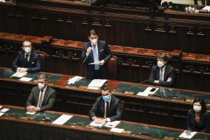Politica, Giuseppe Conte alla Camera
