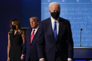 Melania Trump,Donald Trump,Joe Biden