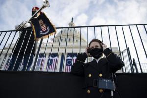 Usa, insediamento Biden: la sicurezza intorno al Campidoglio