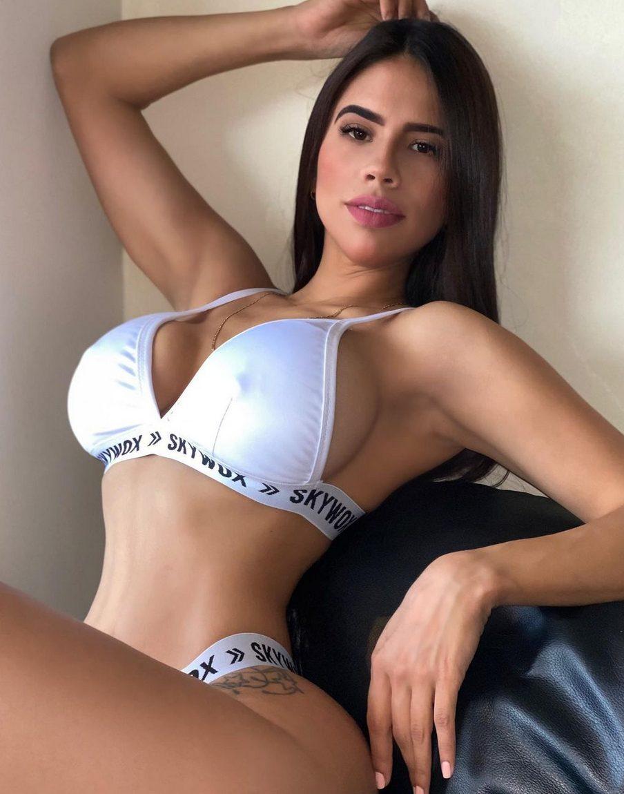 La modella Mariale Ruiz