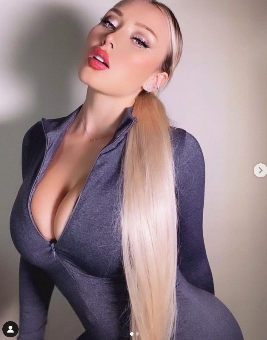 La modella cilena Daniella Chavez