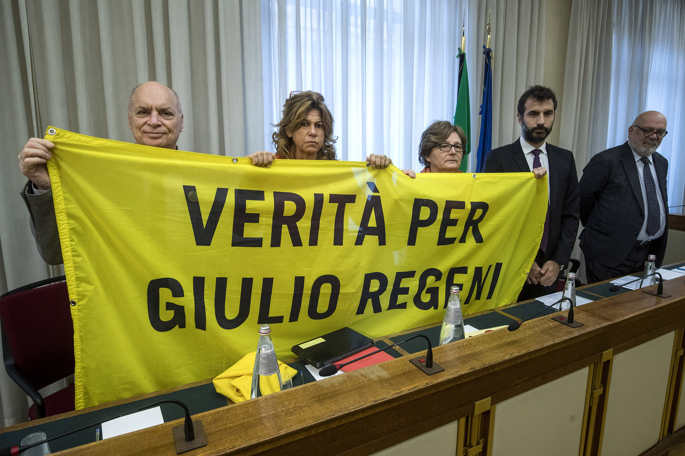 Commissione sulla morte di Giulio Regeni - Audizione Claudio Regeni e Giulia Deffendi