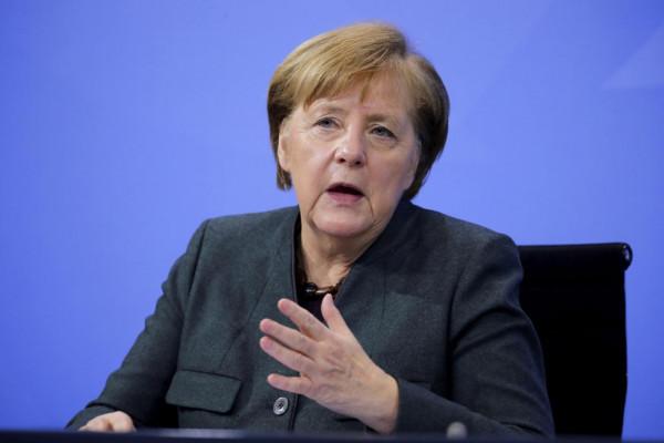 Angela Merkel. Virus Outbreak Germany