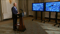 Biden allo staff della Casa Bianca