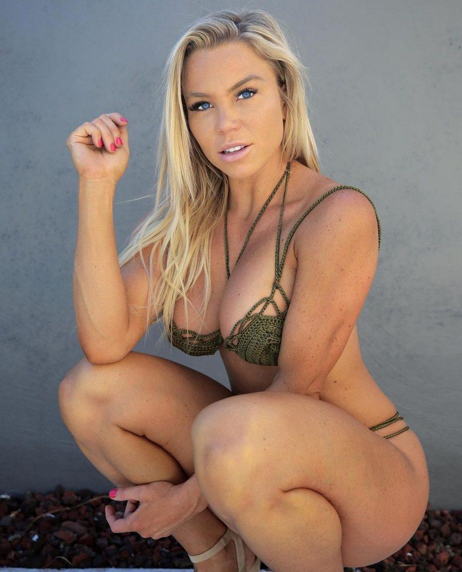 La modella e infermiera Lauren Drain Kagan