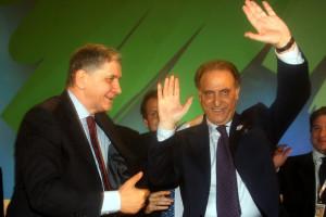 Rocco Buttiglione e Lorenzo Cesa