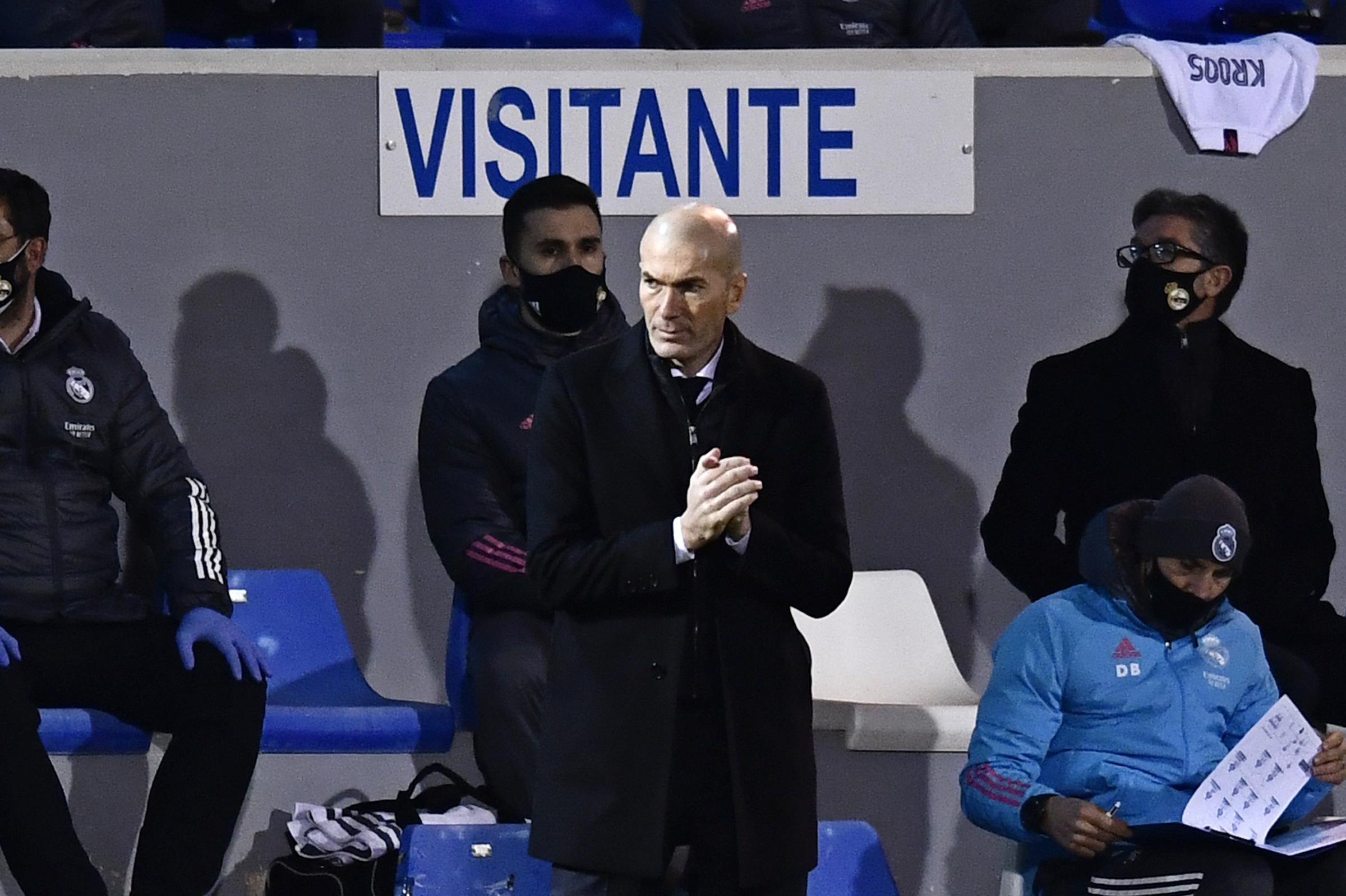 Il coach Zinedine Zidane